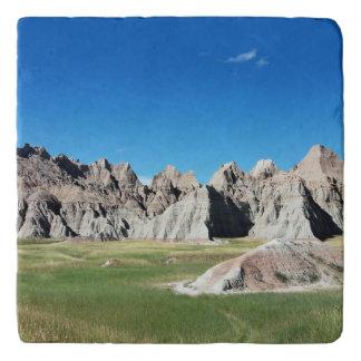 Badlands National Park South Dakota Trivet