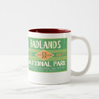 Badlands National Park Two-Tone Coffee Mug