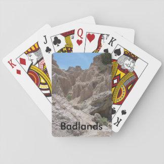 Badlands Playing Cards