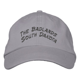 Badlands South Dakota Embroidered Hat