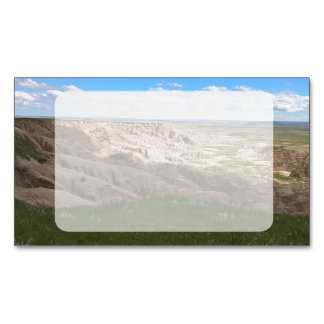 Badlands South Dakota Shadow and Light Magnetic Business Card