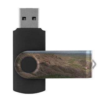 Badlands South Dakota Shadows and Light Swivel USB 3.0 Flash Drive