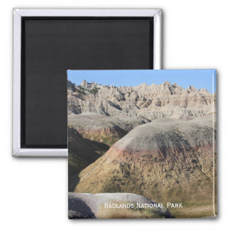 Badlands Square Magnet
