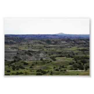 Badlands View Print