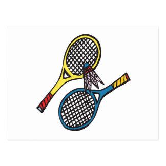 Badminton 8 postcard