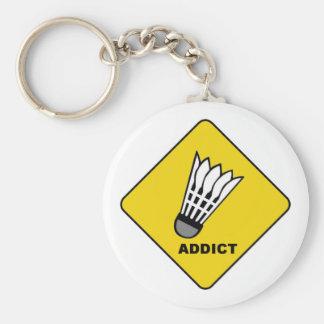 Badminton Addict Keychain
