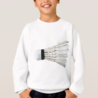 Badminton Birdie Shuttlecock Racket Spike Net Sweatshirt