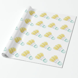 Badminton Birdie Wrapping Paper