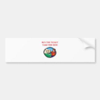 badminton bumper sticker