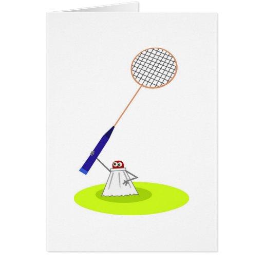 Badminton Carte De Vœux
