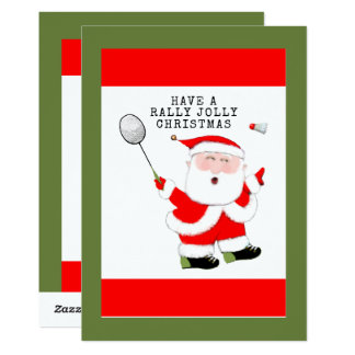 Badminton Christmas Cards