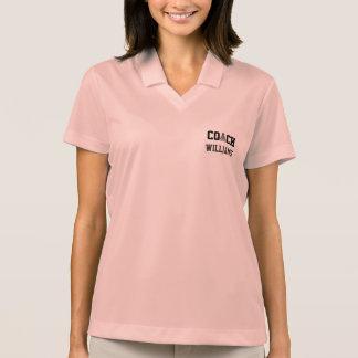 Badminton Coach - Personalized Polo Shirts