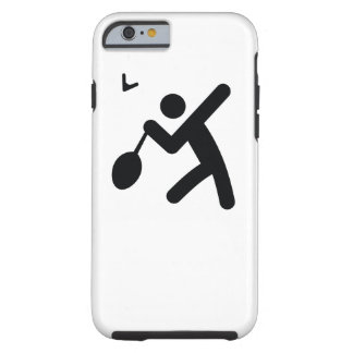 BADMINTON | cool sport icon Tough iPhone 6 Case
