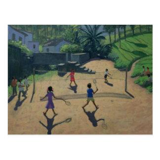 Badminton Coonoor India Postcard