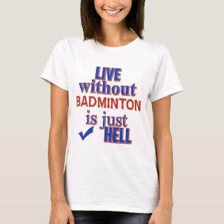 BADMINTON DESIGN T-Shirt