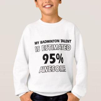 badminton designs sweatshirt