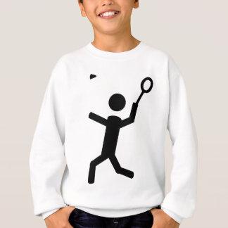 badminton icon sweatshirt