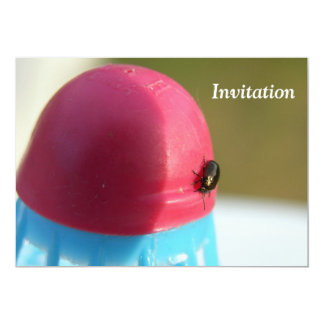 Badminton Party Fly Invitation