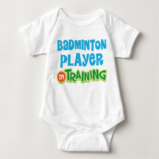 Badminton Player Baby Baby Bodysuit