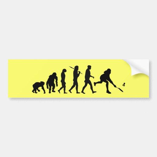 Badminton players badminton shuttlecock gift bumper sticker