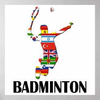 Badminton Poster