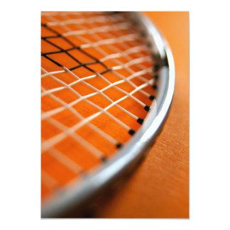 Badminton Racket Card