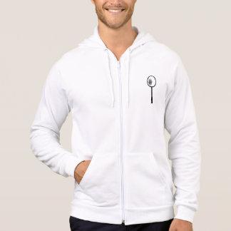 Badminton racket hoodie