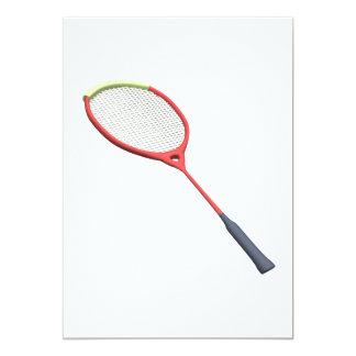 Badminton Racquet Card