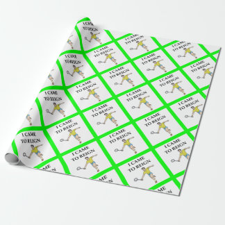 badminton wrapping paper