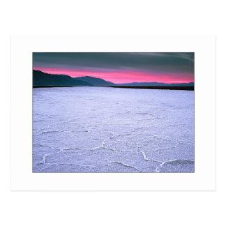 """Badwater -282 feet"" Postcard"