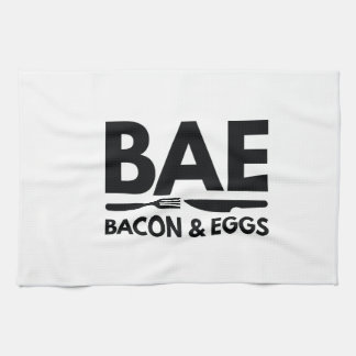 BAE Bacon And Eggs Kitchen Towel