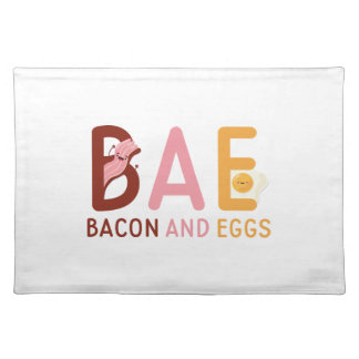 BAE Bacon And Eggs Placemat