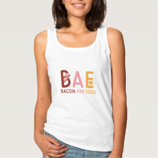 BAE Bacon And Eggs Tank Top