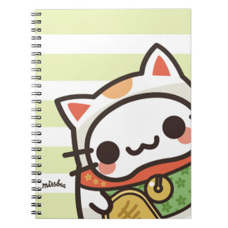 Bae bae cats spiral notebook