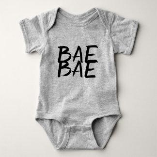 Bae bae trendy funny hipster baby unisex bodysuit