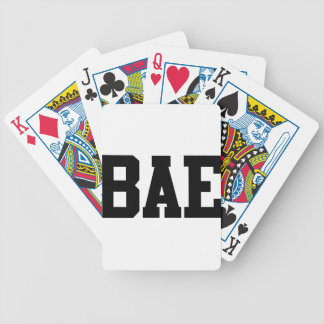 Bae Bicycle Playing Cards