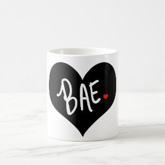 BAE Heart Coffee Mug by Mini Brothers