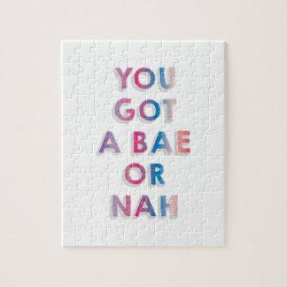 Bae or Nah Puzzle