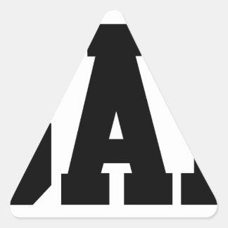 Bae Triangle Sticker