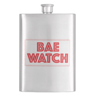 Bae watch funny bay watch movie reference hip flask