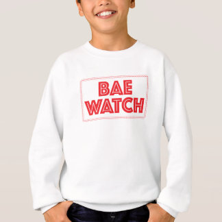 Bae watch funny bay watch movie reference sweatshirt