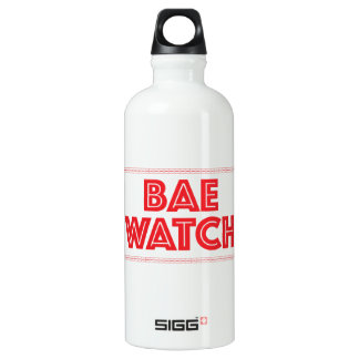 Bae watch funny bay watch movie reference water bottle