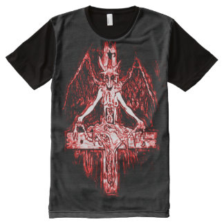 Bael Unholy Communion Demon Airbrush Art All-Over-Print T-Shirt