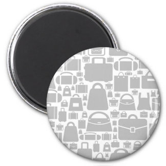 Bag a background 2 inch round magnet