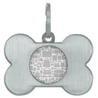 Bag a background pet tag