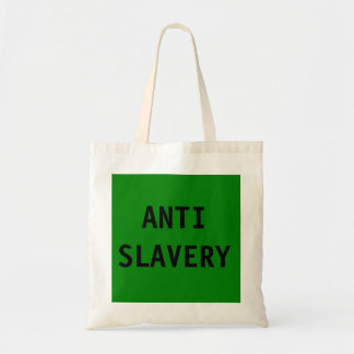 Bag Anti Slavery Green