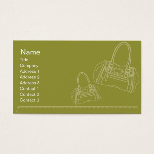 Bag - Business Business Card