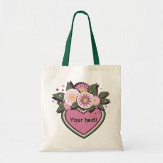Bag floral design