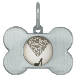 Bag from shoe pet tag