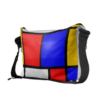 Bag messenger Mondrian style Messenger Bag
